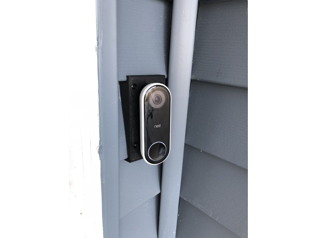 Nest Doorbell Vinyl Siding Mount By Menerso Thingiverse