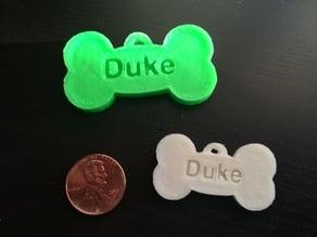 Dog Tag for Duke