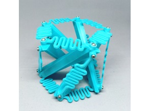 Printed Tensegrity Toy