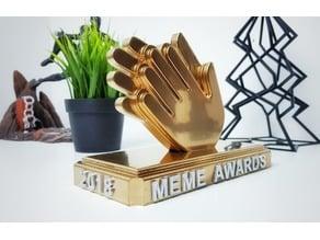 Meme awards trophy for pewdiepie video