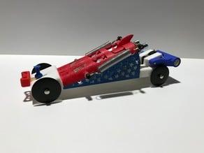 CO2 Pinewood Derby Car