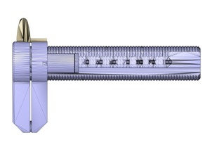 Dial Caliper with inner diameter