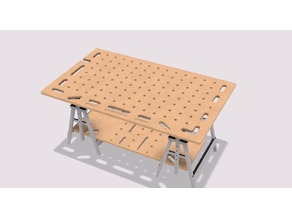 Multi Function Workbench made by CNC