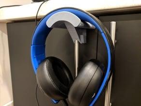 Headphone holder for Ikea Lansa handle