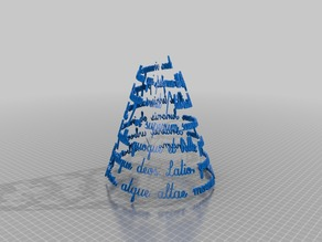 Fit text to arbitrary surface in OpenSCAD