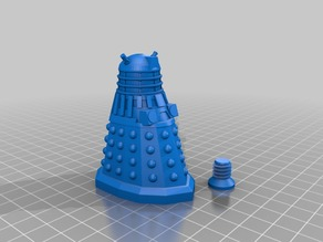 Dalek Salt/Pepper shaker