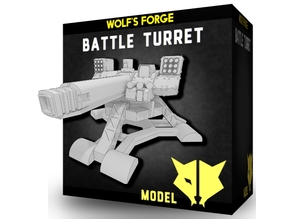 SciFi Battle Turret