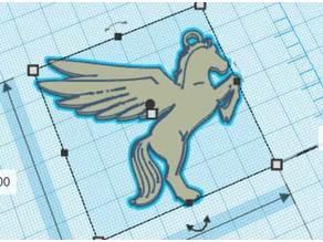 Pegasus pendant - Pendentif Pégase