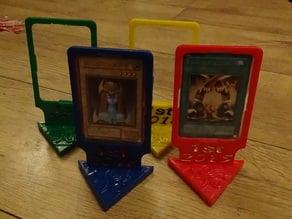 Yu-Gi-Oh Card Trophy / Stand