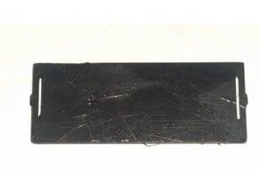 Playmobil System X closet plank, closed 51mm model