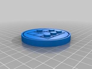 Glider Hacker Emblem badge/coin