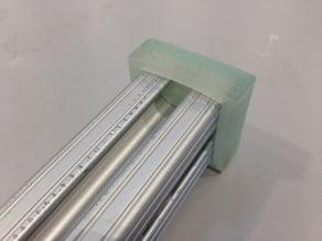 "80/20 Aluminum 1"" Framing End Cap"