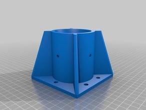 My Customized Parametric Fixing Table Leg -OpenScad