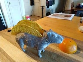 Capybara Taco holder