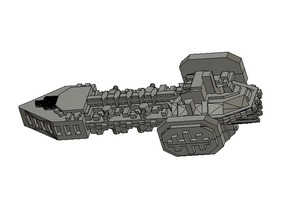 Chaos Infidel Class Raider 2 Cut for Printing