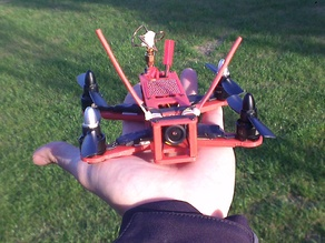 Red Dwarf 135/155 micro FPV Quadcopter