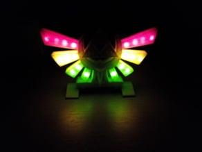 Zelda Hyrule's Crest with LED