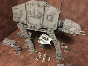 AT-AT Walker (Star Wars Legion scale)