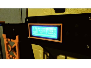 Parametric LCD Bezel Trim Customizable