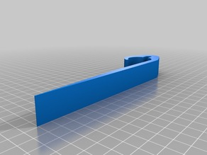Beer can holder for sailing boat. Fits 0,33 & 0,5 L cans on 26 mm tubes and/or 7 mm cables. Parametric design, you can adjust dimensions if required.