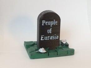 Black Plague Gravestone