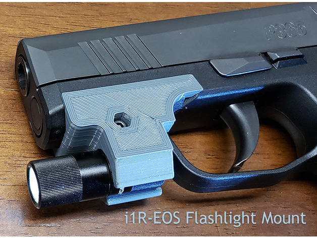 Sig P365 Rail Mount Flashlight & Picatinny by RockyMtnMark
