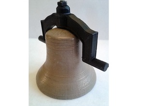 Bell with cast headstock