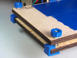 Printrbot Simple Bed Leveling Screws