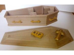 Coffin Jewellery Box