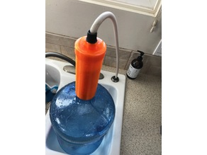 5 Gallon Bottle Filler/Brita Filter holder  Sink Sprayer Attachment