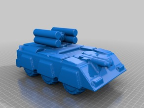 Robotech UN Forces UP-Armored RECON Combat Vehicle