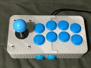 Arcade Joystick 10 buttons case