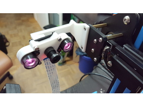 CR10 MULTI Camera Mount Z axis adapter