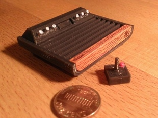 Mini Atari VCS 2600 Heavy Sixer
