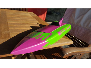 """Deck with Cabin (Speed Boat 3 RC"""" by wersy)"""