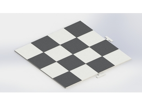 Easy Print Slot Together Chess Board
