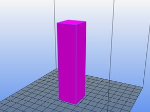 Cuboid for Temperature Calibration