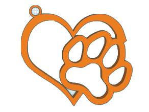 Love Dog keychains