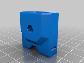 Bear X End Mount for E3D 20T Idler for square Nuts