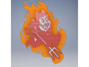 Arizona State Sun Devil Mascot