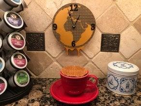 Stroopwafel World Clock