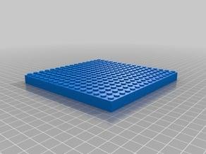 16x16 Building Brick/Block Baseplate