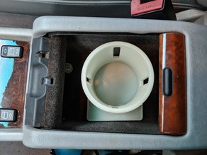 Mercedes Benz 1992 w124 glove box cup holder
