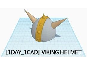 [1DAY_1CAD] VIKING HELMET