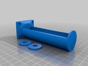My Customized Parametric Mendel90 Filament Spool Holder