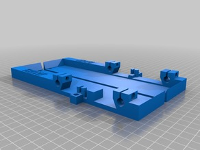 MK2B Heat Bed mount for Monoprice Select Mini (MPSM)