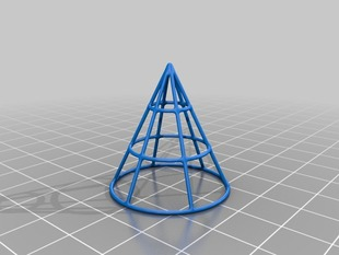 Simple Wire Frame Cone