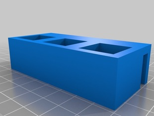 Parametric Tool Holder for Ultimaker/Makerbot/Lasercut frames.