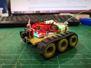 TINY TRAK 18mm Drive Wheel Micro RC Tank