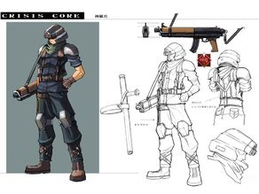 Final Fantasy Crisis Core Cloud Armor